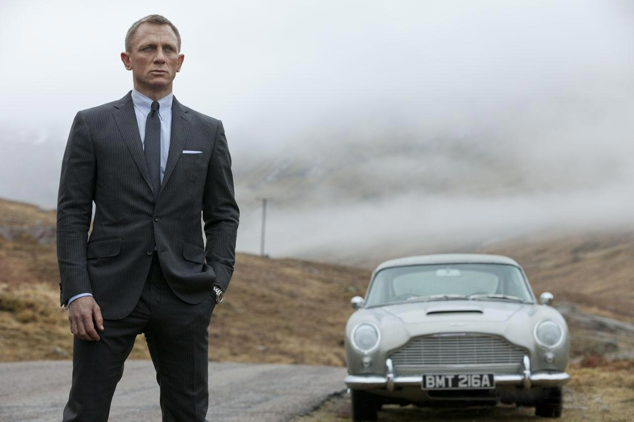 Daniel Craig in Tom Ford