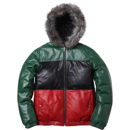 Wish List | Supreme Leather Down Jacket