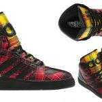 New Release | Jeremy Scott for Adidas | Tartan High-Top