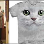 My Style   Oversized Cat T-Shirt