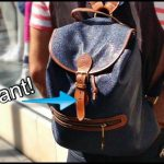 Street Style   Mulberry Scotchgrain Leather Backpack