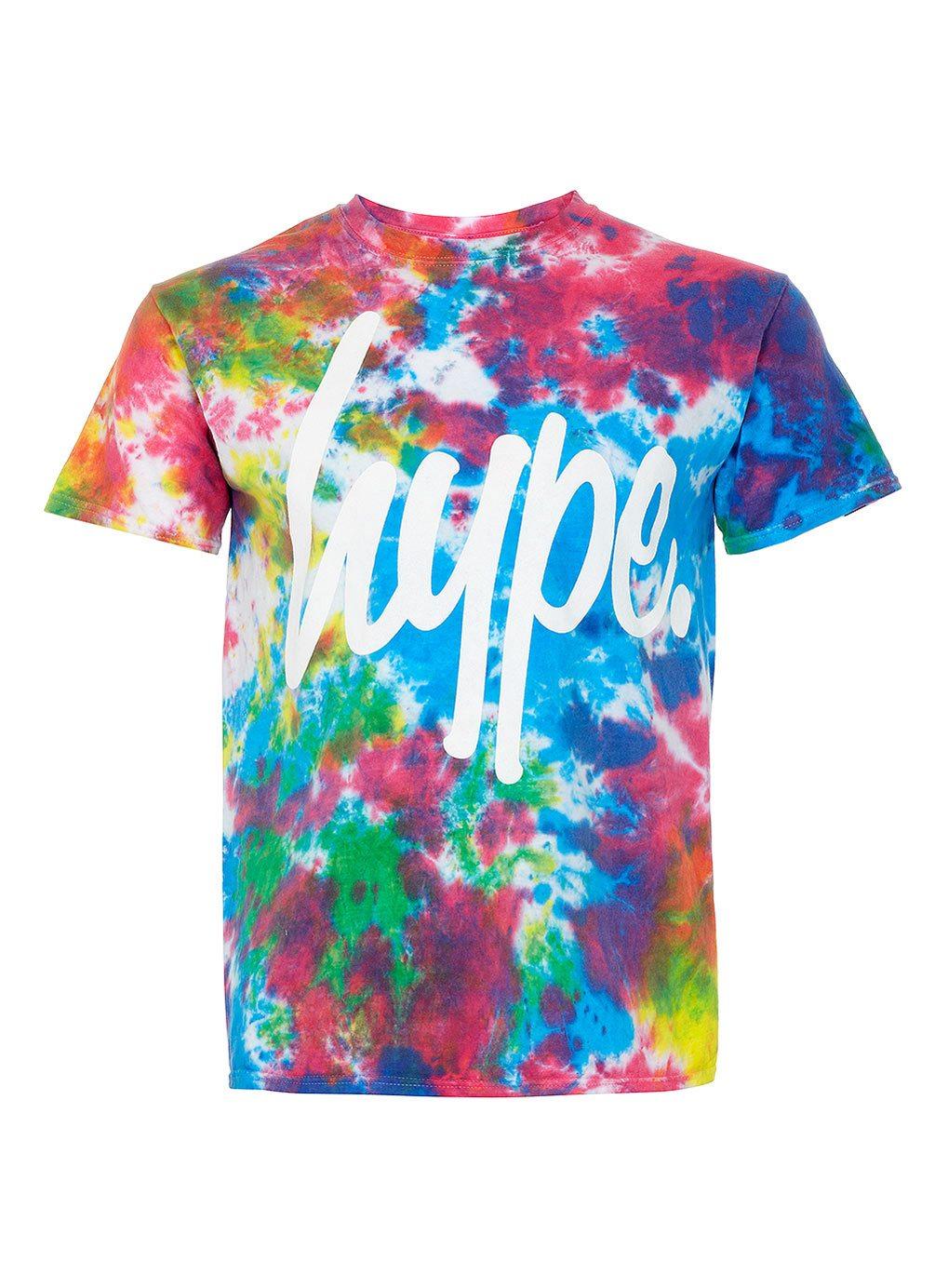 Hype-Topman-Tie-Dye-T-shirt-multi-colour