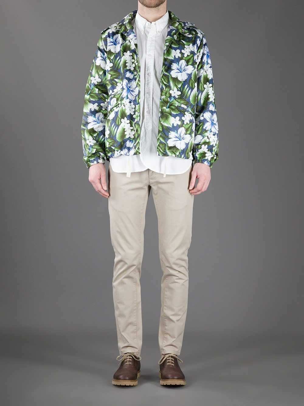 Hawaiian-Print-Hooded-Jacket-Engineered-Floral-Print-FarFetch-Model