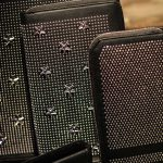 Jimmy-Choo-LCM-SS14-Presentation-Black-Studded-Stars-Document-Wallet-Zip-Leather
