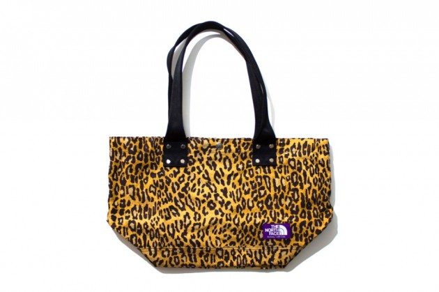 The-North-Face-Purple-Label-2013-Leopard-Print-Tote-Bag-Shopper