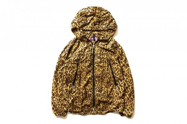 The-North-Face-Purple-Label-2013-Leopard-Print-Waterproof-Jacket-Hooded-Hood