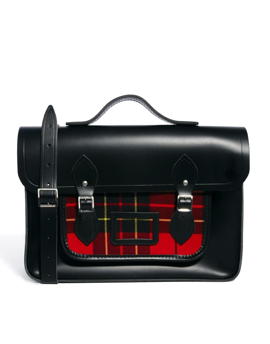 The-Cambridge-Satchel-Company_Mens_Black-Leather_Tartan_15_Red