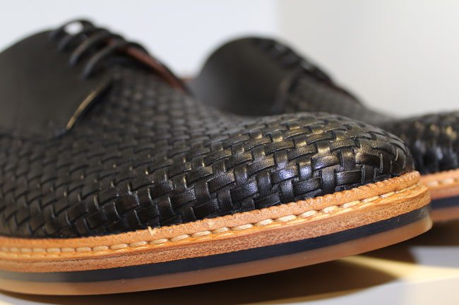 Clarks-SS14-Woven-Navy-Shoe