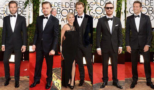 Best Dressed Men | Golden Globes 2014