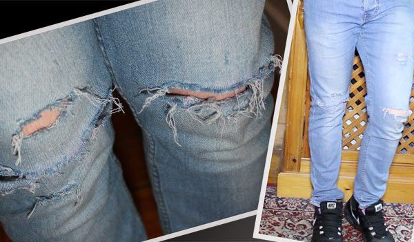 DIY Style Tutorial | Ripped Jeans