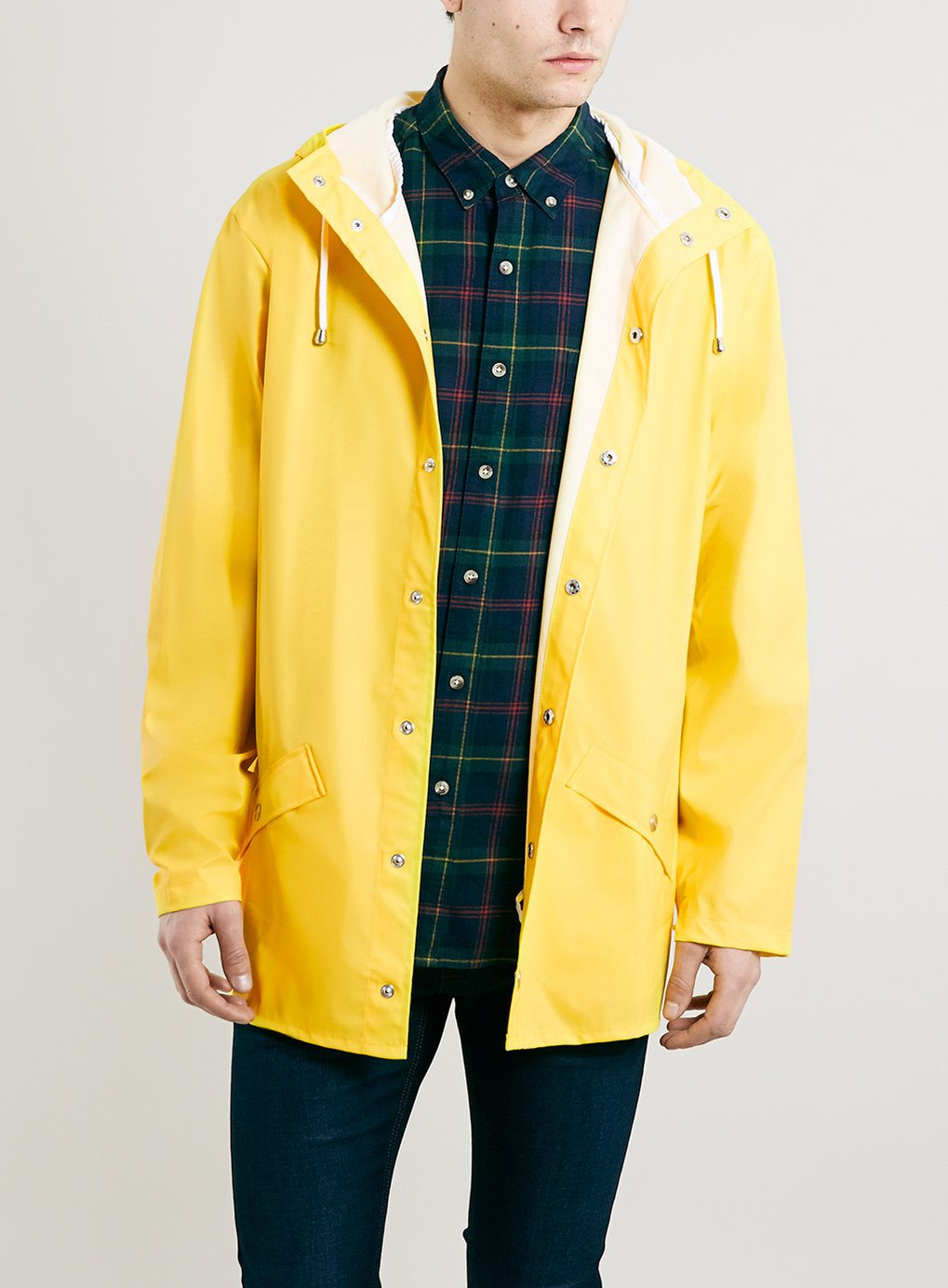 Rains-Yellow-Short-Jacket | Man For Himself