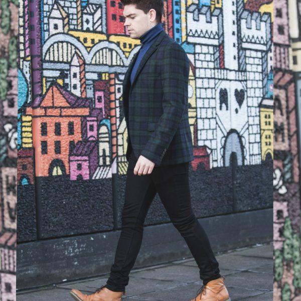 Robin_James_The_Utter_Gutter_Topman_Clothes_Winter_Shoot_Portrait_Tartan_Blazer_Roll_Neck