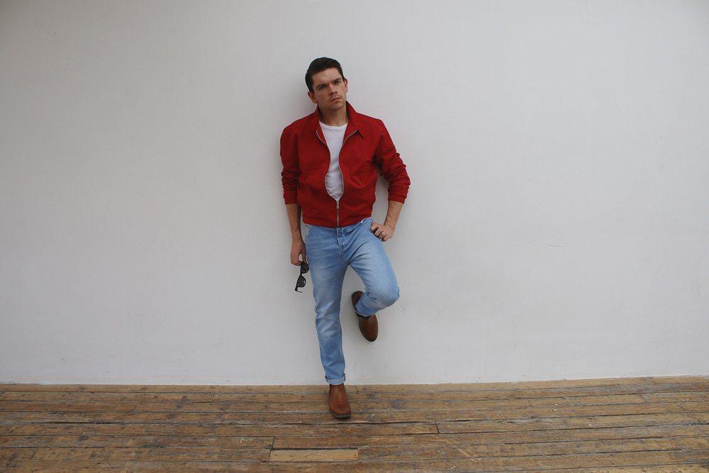 James-Dean-Hair-Style-Red-Harrington-Jacket