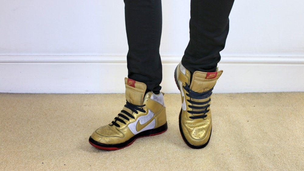 Mens-Shoe-Collection-Nike-Gold-High-Tops