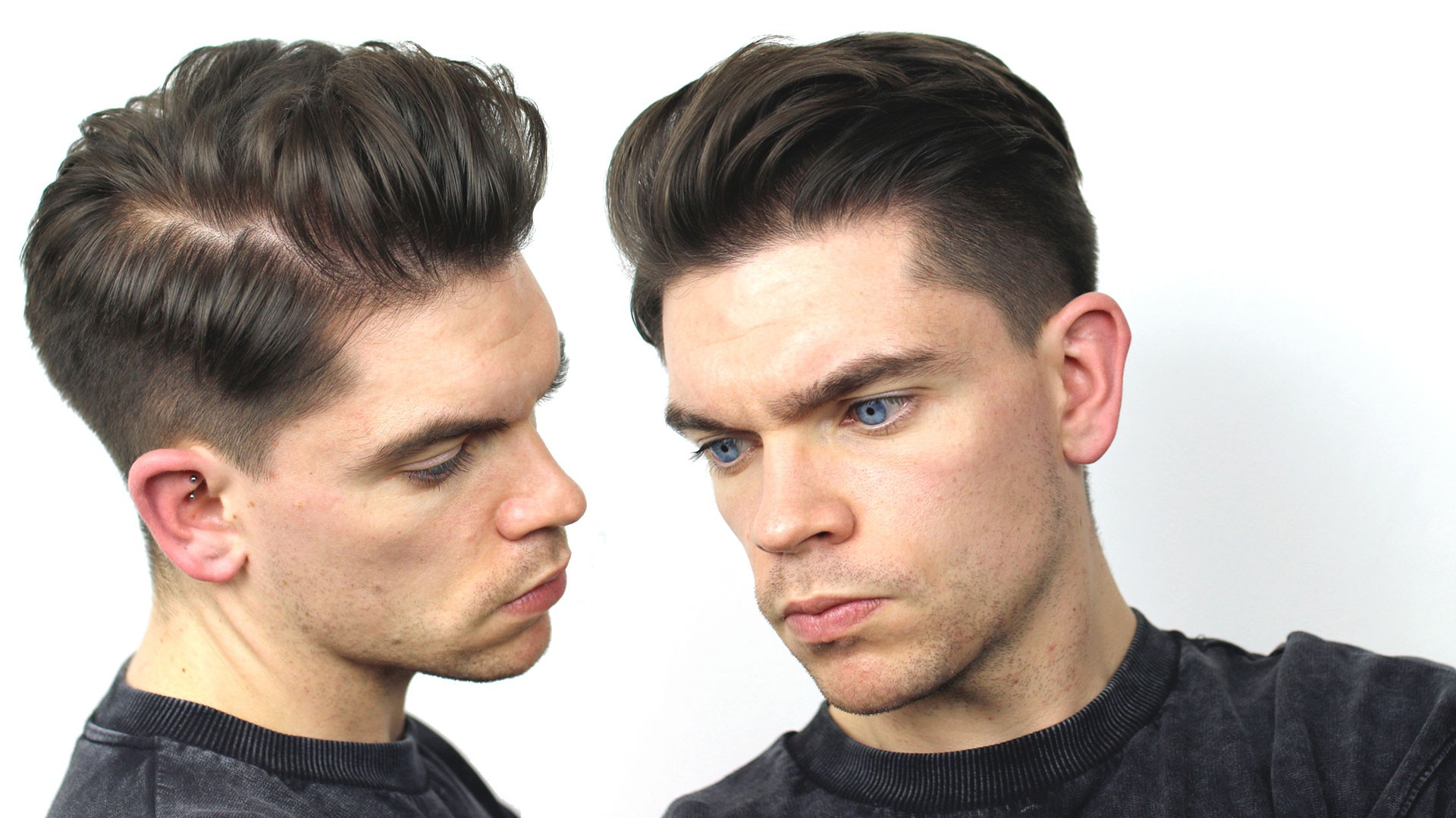 David Beckham Everyday Hairstyle How To