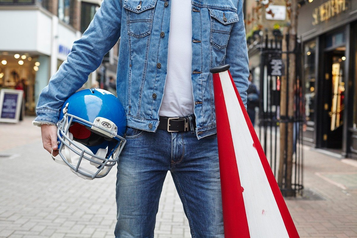ASOS X Tommy Hilfiger Double Denim| Robin James | Man For Himself
