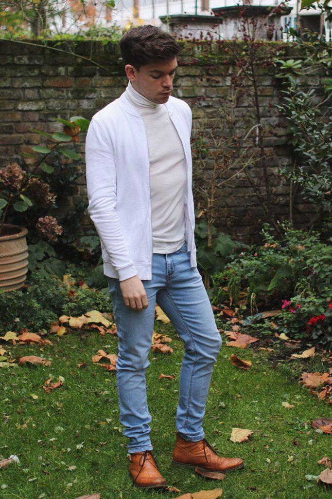 white-bomber-jacket-roll-neck-Robin-James-Man-For-Himself