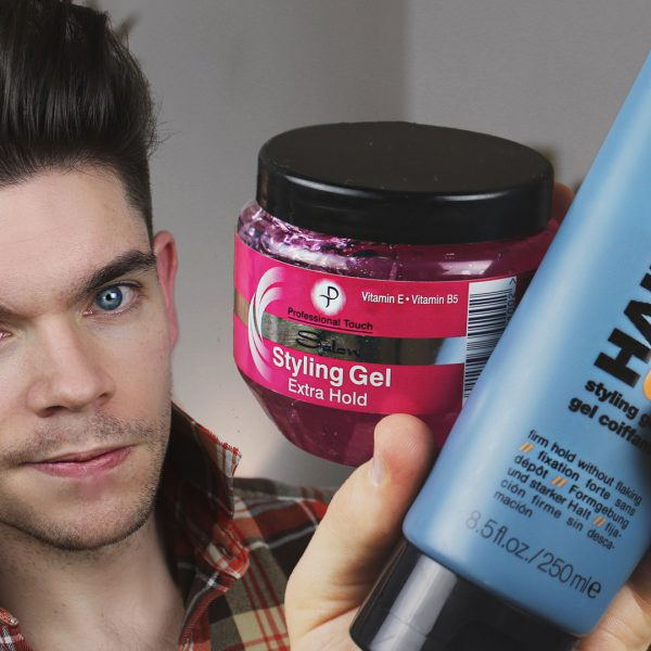 """Can I use gel for a quiff?"" 