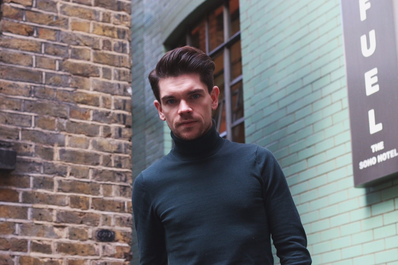 Green-Roll-Neck-Robin-James-Man-For-Himself