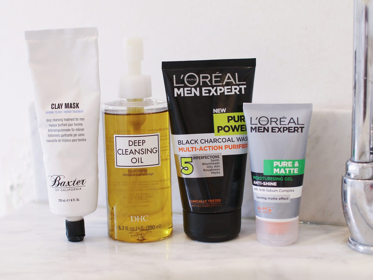 Best Products For Oily Skin | Man For Himself