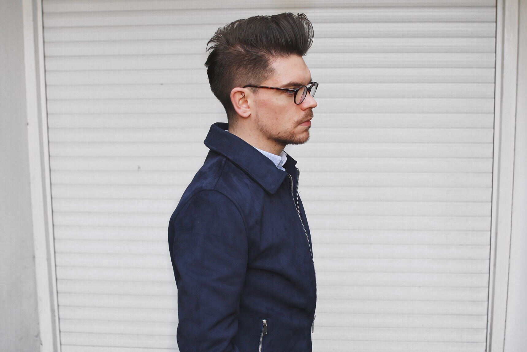 Mens Quiff Side