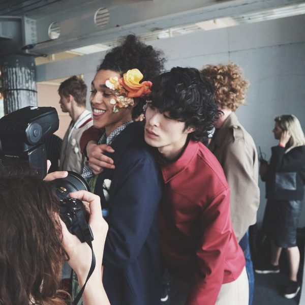 Backstage at LCM SS17   Men's Hairstyles and Grooming
