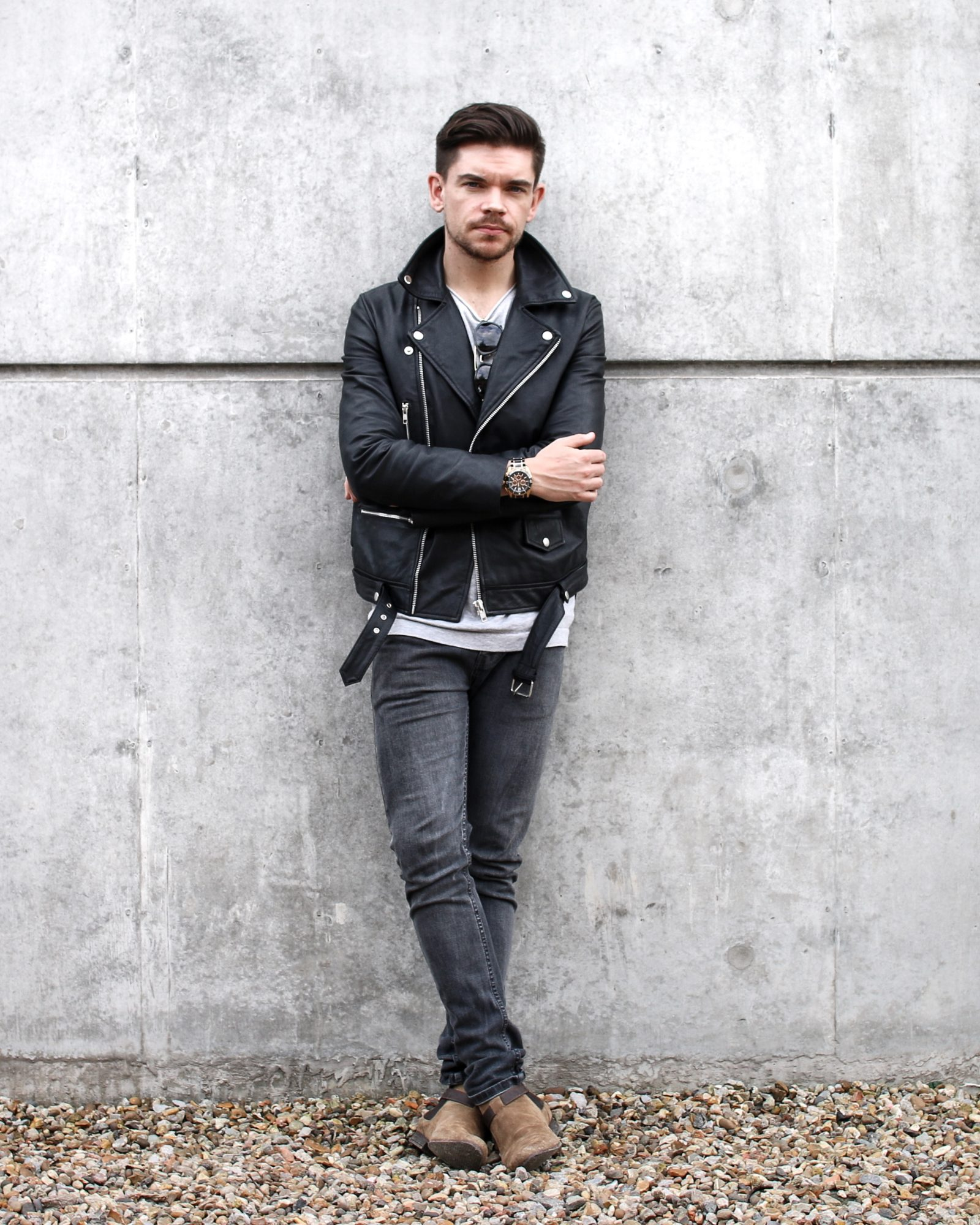 Best Leather Jacket ASOS