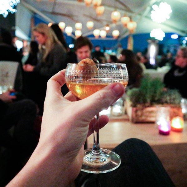 London's Hot Gin Pop-Up Bar | Recommended