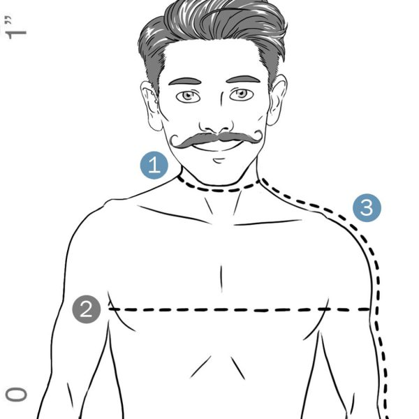 Men's Size Guide   How To Measure Your Body