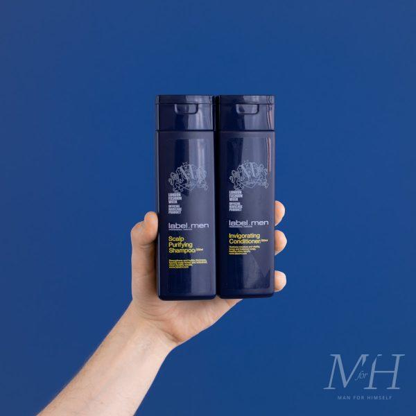 label M Shampoo & Conditioner