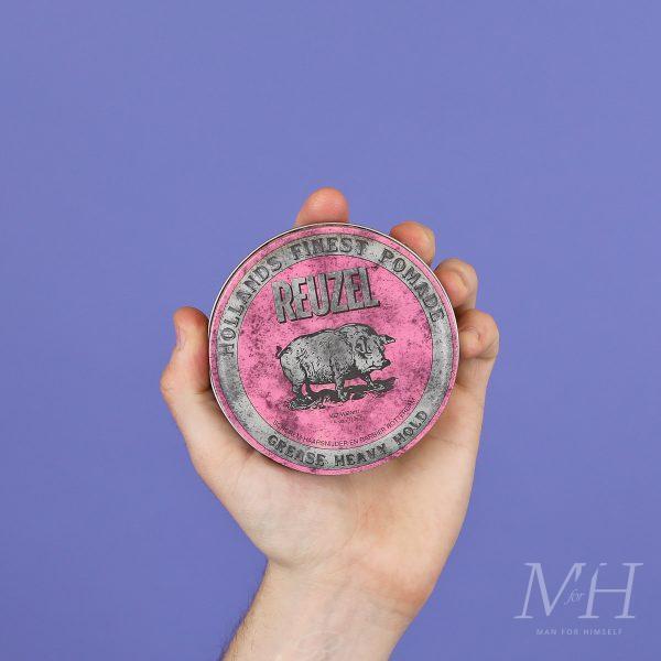 Reuzel Pink Heavy Hold Pomade