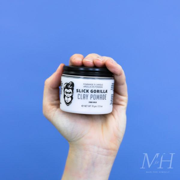slick-gorilla-clay-pomade-grooming-product-review-man-for-himself