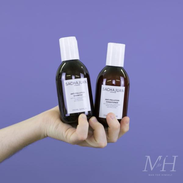 SachaJuan Anti Pollution Shampoo & Conditioner