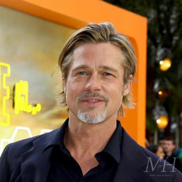 Brad Pitt: Grown Out Fine Hair