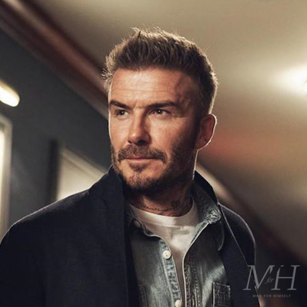 David Beckham: Short And Cropped
