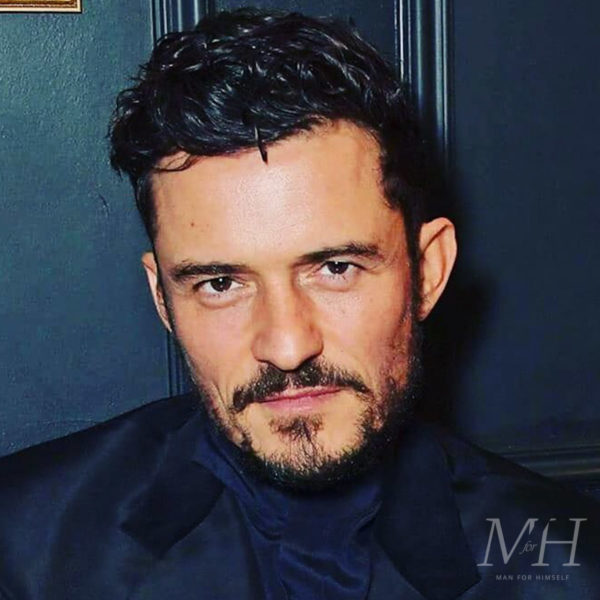 Orlando Bloom: Curly Medium Length