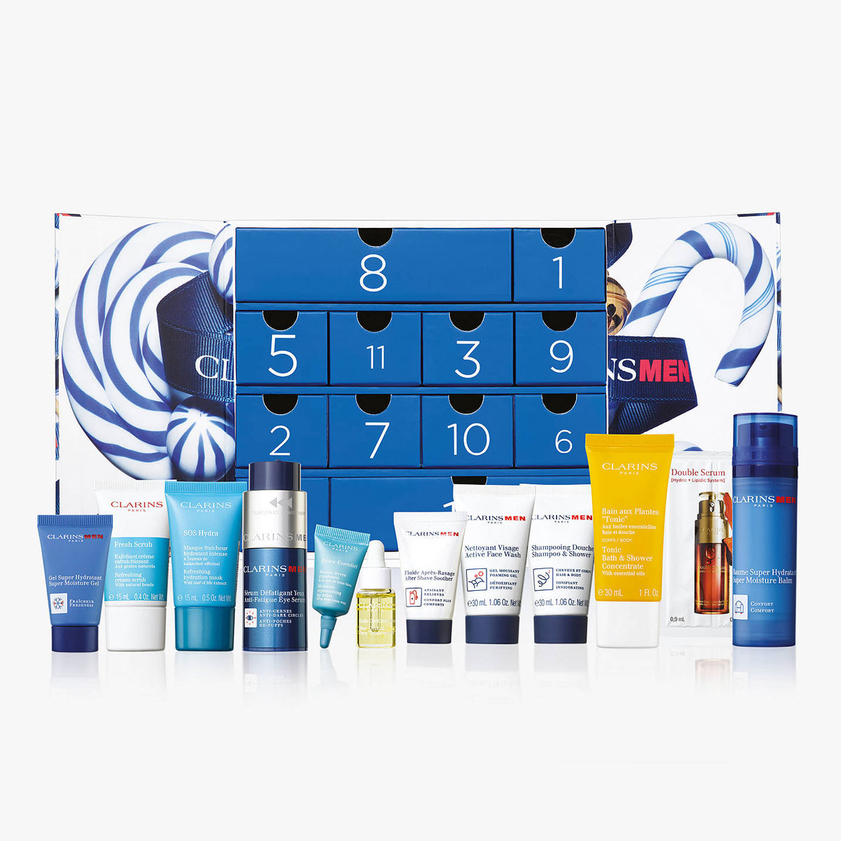 clarins-12-day-advent-calendar-for-men-grooming-product-review-man-for-himself