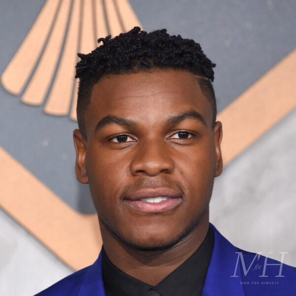 john boyega tight twists fade