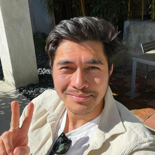 Henry Golding: Tapered Hairstyle With Quiff