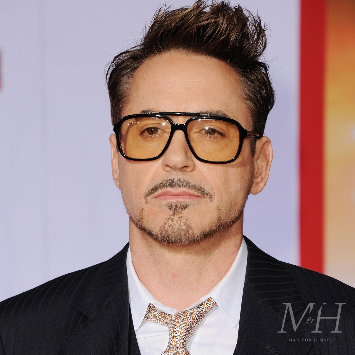 Robert Downey Jr Beard