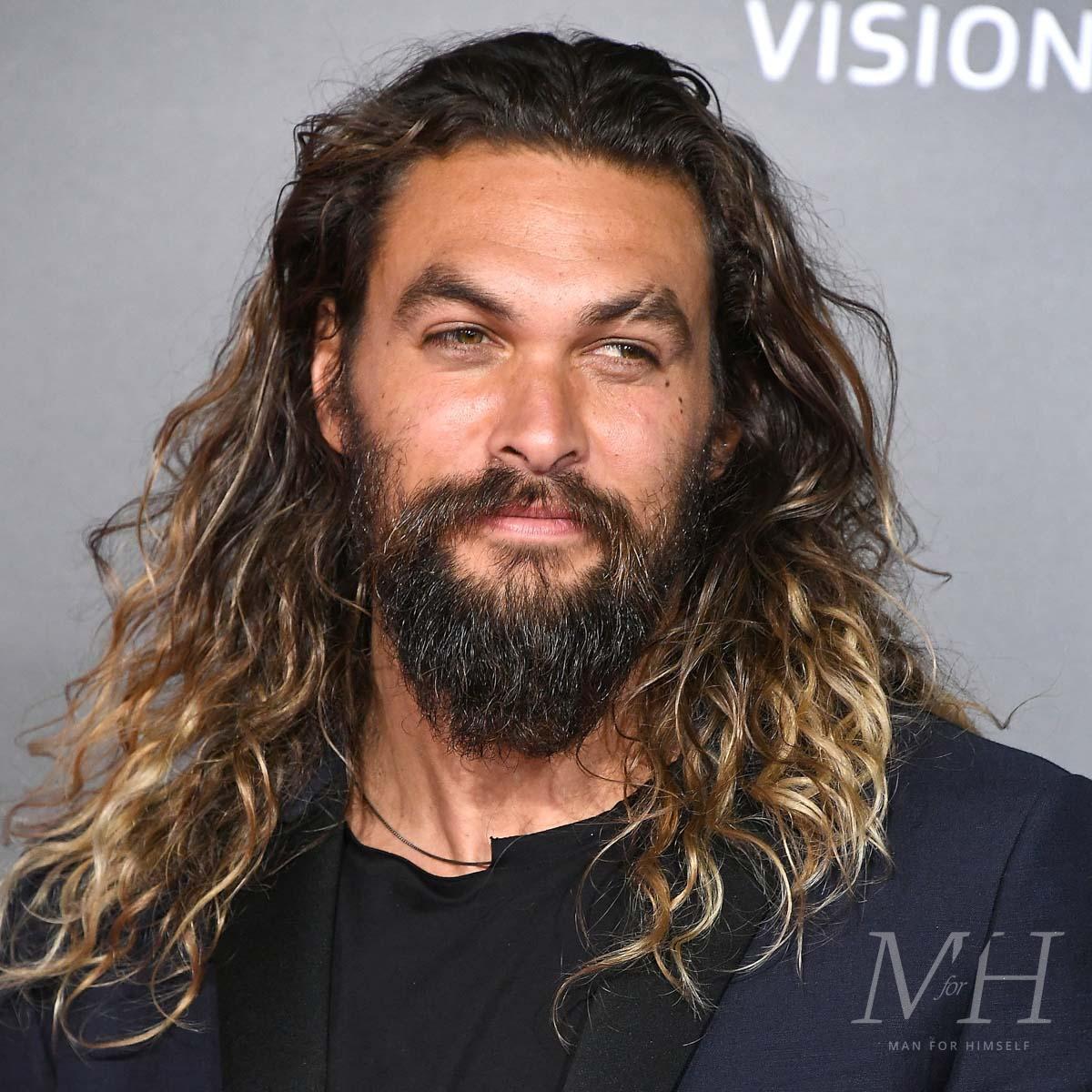 Jason Mamoa Full Beard