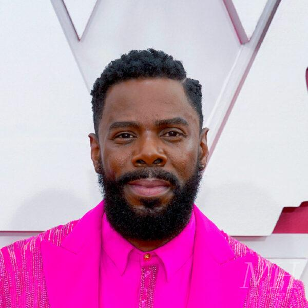 colman-domingo-afro-fade-hard-part hairstyle