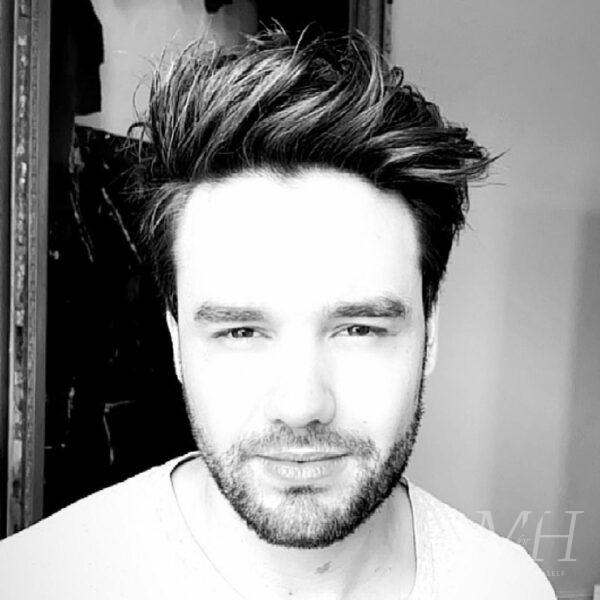 Liam Payne: Long On Top With Quiff
