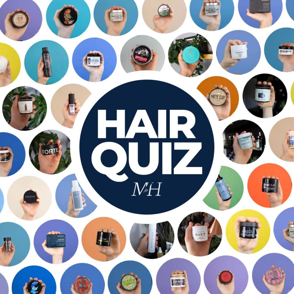 Quiz: Find the best hair products for you.
