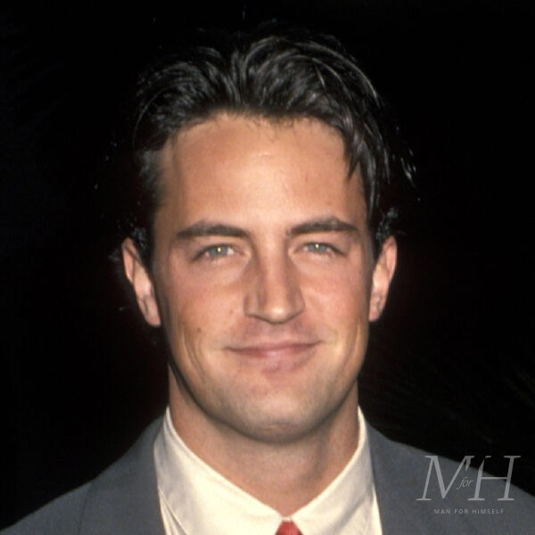'Chandler Bing': Short Taper Gelled Back Hairstyle