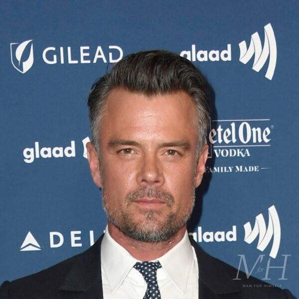 Josh Duhamel: Tapered Fade With Small Quiff Hairstyle