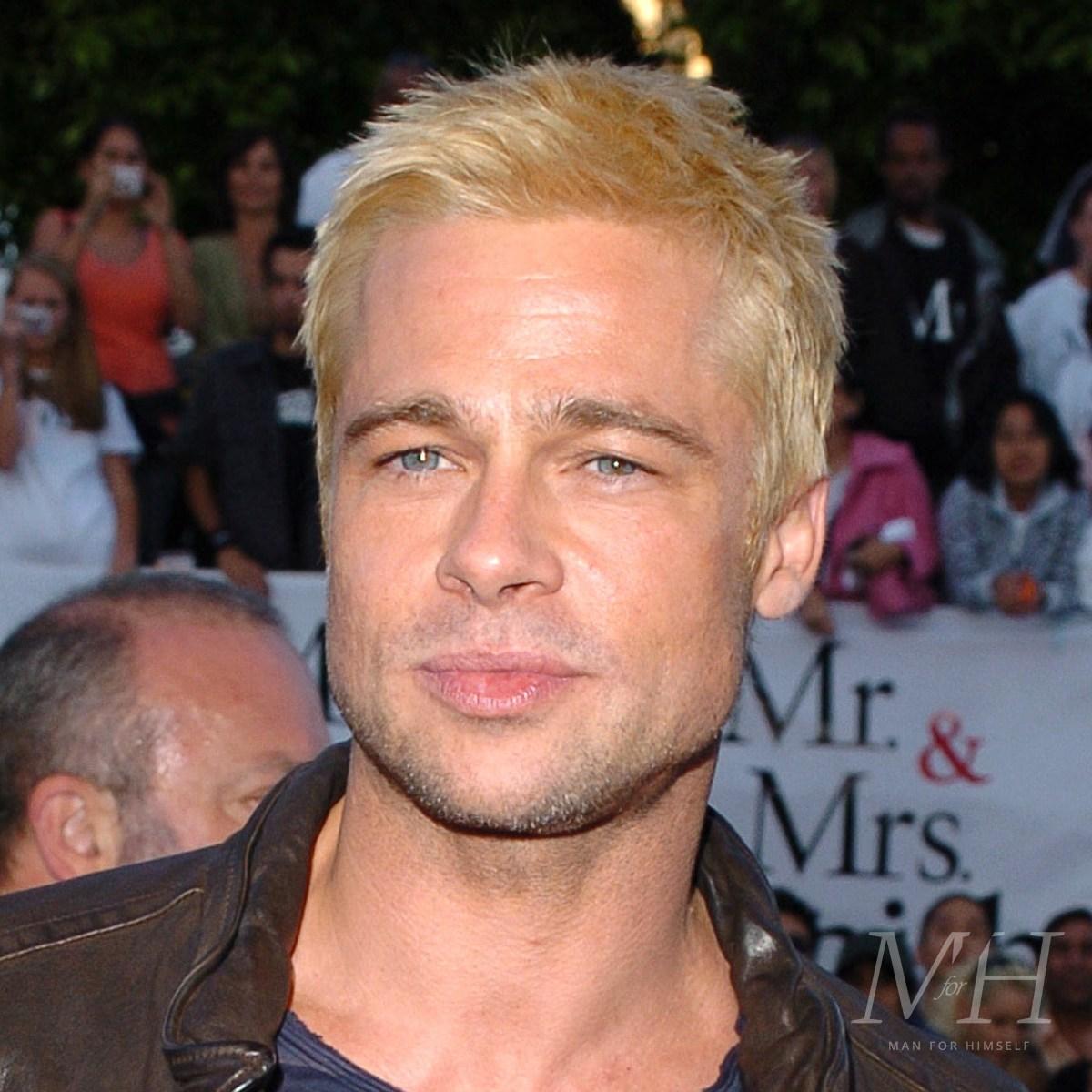 brad-pitt-bleach-blonde-hairstyle