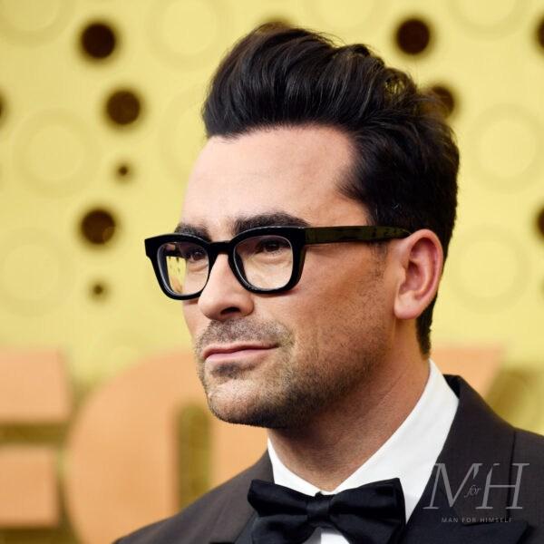 Daniel Levy Hairstyle Emmy Awards 2021