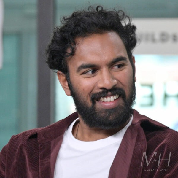 Himesh Patel: Messy Curls With Tapered Back